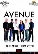 Avenue în Hard Rock Cafe din Bucureşti