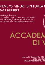 Academia Di Vino în Olivo Caffe din Cluj-Napoca