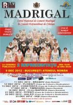 Turneu Corul Naţional Madrigal 2012
