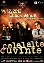 Concert Celelalte Cuvinte în Chaos Venue din Bucureşti