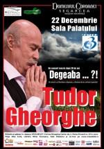 """Concert Tudor Gheorghe """"Degeaba"""" la Sala Palatului din Bucureşti"""