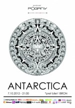 Concert Antarctica în Madame Pogany din Bucureşti