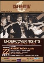 Concert Robert Patai în Cafepedia din Bucureşti