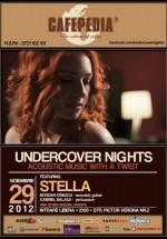 Concert Stella în Cafepedia din Bucureşti