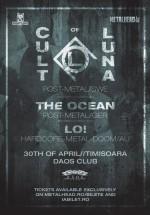 Concert Cult Of Luna în Daos Club din Timişoara