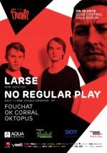 Lars şi No Regular Play în Control Club din Bucureşti