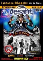 Lansare album Desant în Club Doors din Constanţa
