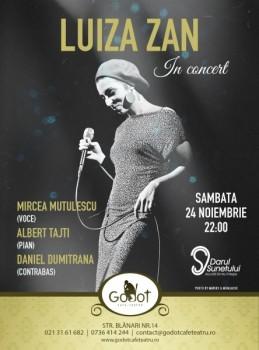 Luiza Zan în Godot Cafe-Teatru din Bucureşti