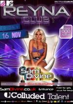 Sam Devine în Reyna Club din Bucureşti