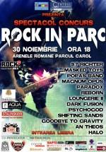 Spectacol – concurs Rock in Parc la Arenele Romane din Bucureşti