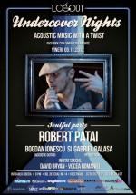 Robert Patai în Log Out Cafe din Bucureşti