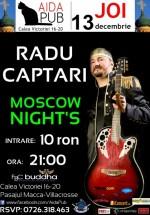 Concert Radu Captari în Aida Cafe din Bucureşti
