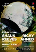 Shaun Reeves şi Richy Ahmed în Kristal Club din Bucureşti