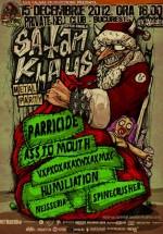 Satan Klaus Metal Party 2012 în Private Hell Club din Bucureşti