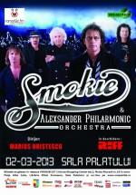 Concert Smokie la Sala Palatului din Bucureşti (CONCURS)