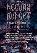 Concerte Negură Bunget în Bucureşti, Braşov, Sibiu şi Cluj-Napoca