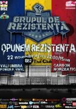 Lansare album Grupul de Rezindeţă în Club B52 din Bucureşti