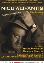"""Concert Nicu Alifantis la Filarmonica """"Mihail Jora"""" din Bacău"""