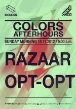 OPT-OPT & Razaar în Colors Club din Bucureşti