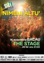 Concert Nimeni Altu' în The Stage din Bacău