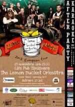 Concert The Lemon Bucket Orchestra în LifePub din Timişoara