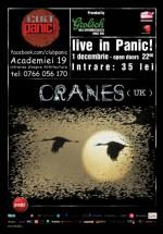 Concert Cranes în Panic! Club din Bucureşti
