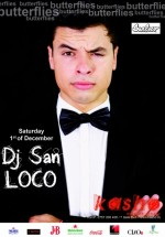 SanLOCO în Kasho Club din Braşov