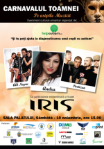 """Carnavalul Toamnei """"Pe aripile muzicii"""" la Sala Palatului din Bucureşti"""