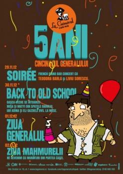 Ziua Generalului în Le Général Café-Pub din Cluj-Napoca