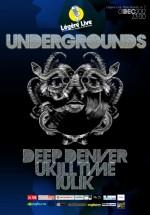 Deep Denver, Ukilltime şi Iulik în Legere Live din Bucureşti