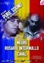 Negru şi Rosario Internullo în Barocco Bar din Bucureşti