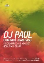 DJ Paul în Club Goblin din Bucureşti