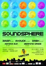 SoundSphere în Legere Live din Bucureşti