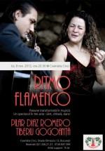 Pilar Diaz Romero şi Tiberiu Gogoanţă în Ceainăria Cinci din Bucureşti