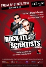 Rock-It Scientists în Collage Lounge din Bucureşti