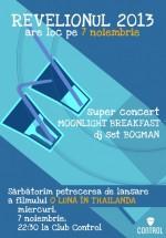 Concert Moonlight Breakfast în Control Club din Bucureşti