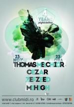 Thomas Melchior în Club Midi din Cluj-Napoca