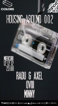 Radu & Axel, Ovii şi Minny în Colors Club din Bucureşti