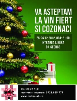 Program de Crăciun în Indie Club din Bucureşti