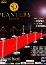 Hollywood New Years Eve 2013 în Club Planters din Bucureşti
