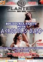 Bouzoukia Party în Club Planters din Bucureşti