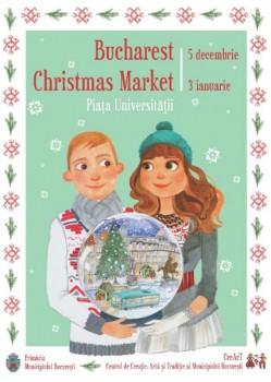 Bucharest Christmas Market în Piaţa Universităţii din Bucureşti