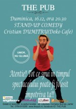 Stand-Up Comedy în The Pub din Alexandria