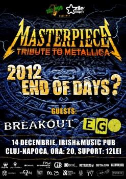 Concert Masterpiece – Tribute to Metallica în Irish Music & Pub din Cluj-Napoca