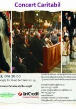 Concert caritabil de Crăciun la Catedrala Sf. Iosif din Bucureşti