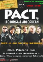 Concert Leo Iorga & Ordean (PACT) în Route 66 Club din Bucureşti