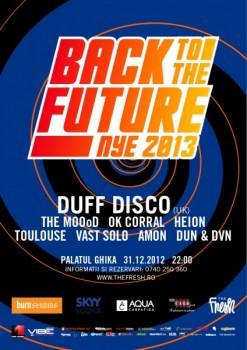 Back to the Future – NYE 2013 la Palatul Ghika din Bucureşti