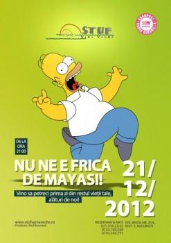 End of the World Party în Stuf Vama Veche din Bucureşti