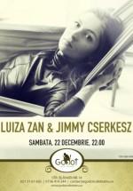 Concert de Crăciun Luiza Zan în Godot Cafe-Teatru din Bucureşti