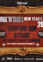 Funk'N'Roll New Year's Eve 2013 în Club Fabrica din Bucureşti